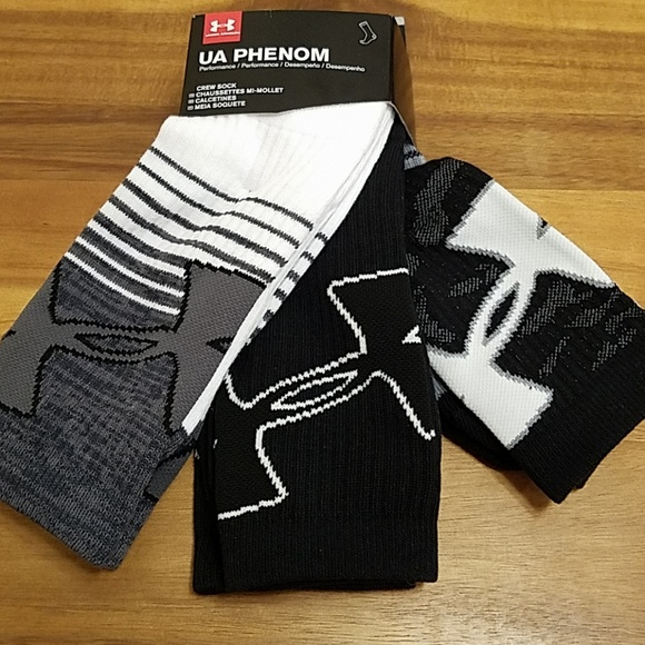 Under armour mens socks 3pack NWT